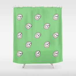 Sloth Party! Shower Curtain