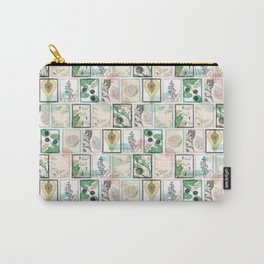 Botanical vintage stamps Carry-All Pouch