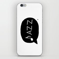 Jazz iPhone & iPod Skin