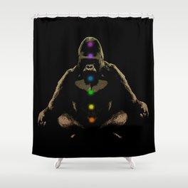 Ape Ascending Shower Curtain