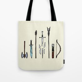 Fellowship of the arms Tote Bag