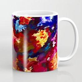 Flower Market Abstract Coffee Mug
