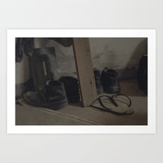 the loving home of no one Art Print