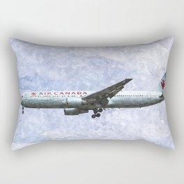 Air Canada Boeing 777 Art Rectangular Pillow