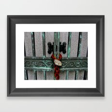 While You're Waiting Framed Art Print