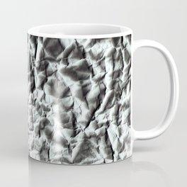 Crumpled paper. Coffee Mug