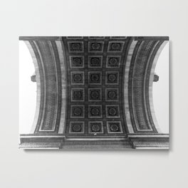 Paris Arc(hitecture) Metal Print