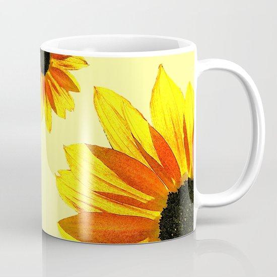 Sunflowers in Backlight Mug