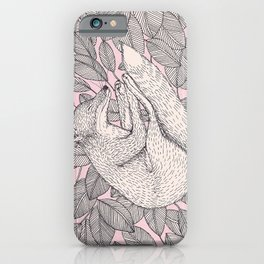 The ballad of the fox iPhone Case