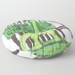 Dinosaurs Love Ice Cream Floor Pillow