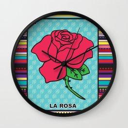La Rosa Wall Clock