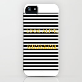 look alive iPhone Case