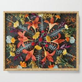Nature Mandala: July Serving Tray