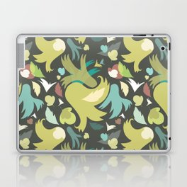 The powerful an green spring is coming Laptop & iPad Skin