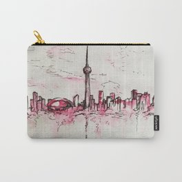 Lines of a Toronto Sky Carry-All Pouch