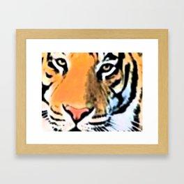 Lion on the Hunt Framed Art Print