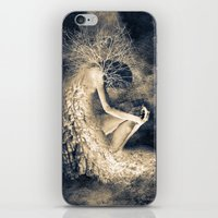 introvert iPhone & iPod Skins featuring introvert. by Viviana Gonzalez