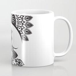 Owl Dreamcatcher w/ Native American Head Dress Coffee Mug