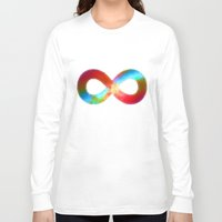 infinite Long Sleeve T-shirts featuring Infinite by deff
