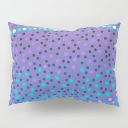 Night Stars: purple and blue Pillow Sham