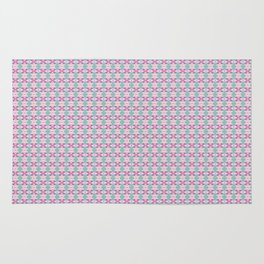 Tango In The Attic x Fraser Stephen 'Crushed Up' Geometric Print Rug