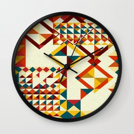 Playing puzzle Wall Clock