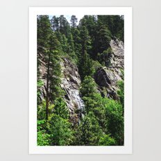 Spearfish Canyon Art Print
