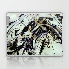 Marble black gold Laptop & iPad Skin
