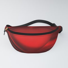 Red heart 16 Fanny Pack