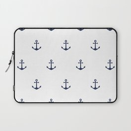 Anchor Pattern Laptop Sleeve