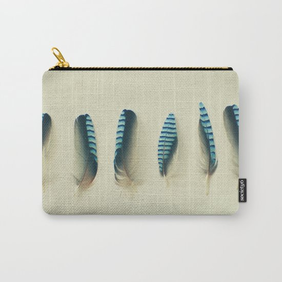 Feathers #1 Carry-All Pouch