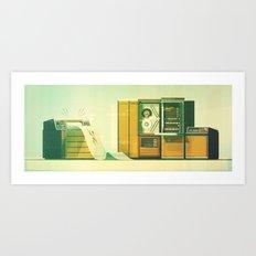 Computer No.1 Art Print