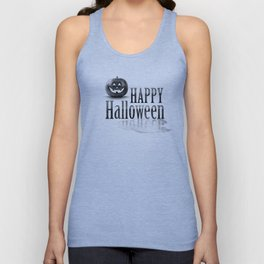 Halloween graffiti Unisex Tank Top