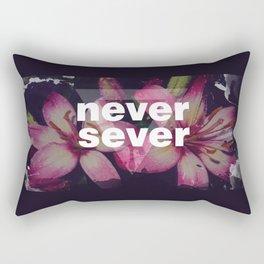 NEVER SEVER Rectangular Pillow