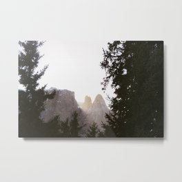 Dolomites Sunset | Nature and Landscape Photography Metal Print