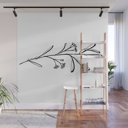 Gum Tree Branch with Blossom by Jess Cargill Wall Mural