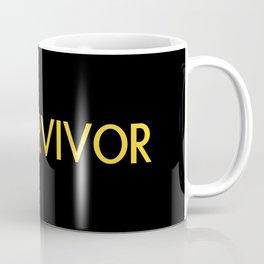 Childhood Cancer Survivor Coffee Mug