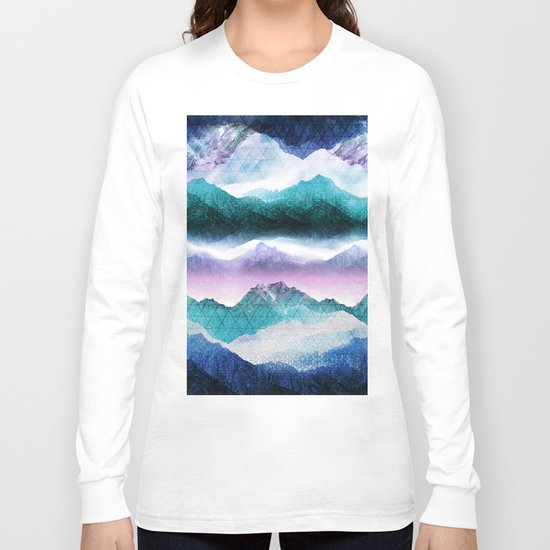 Mountain Dreamscape Long Sleeve T-shirt