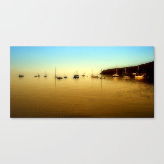 Lamlash Harbour Canvas Print