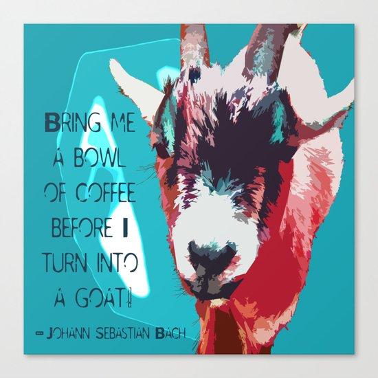 Goatee Canvas Print
