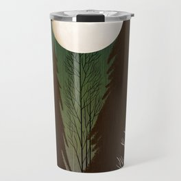 Into The Cold Winter Woods Travel Mug