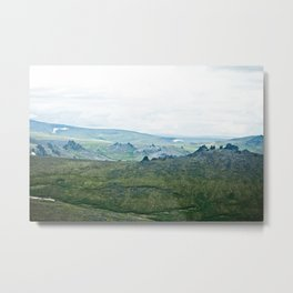 Serpentine Hot Springs Metal Print