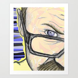 Self Absorption Art Print