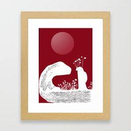 14 juin Framed Art Print