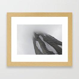 Foggy Chicago Morning 007 Framed Art Print
