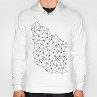 polygon Hoodies featuring Polygon by Boneva