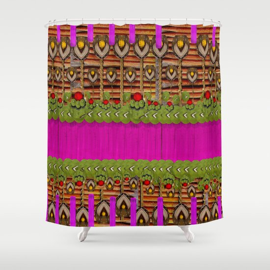 Silence In the Garden Shower Curtain
