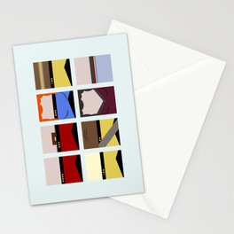Enterprise 1701 D - Minimalist Star Trek TNG The Next Generation - startrek - Trektangles  Stationery Cards