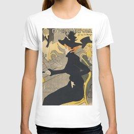 Henri De Toulouse Lautrec Divan Japonais T-shirt