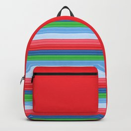 Child's Play Chucky Inspired Stripes Backpack